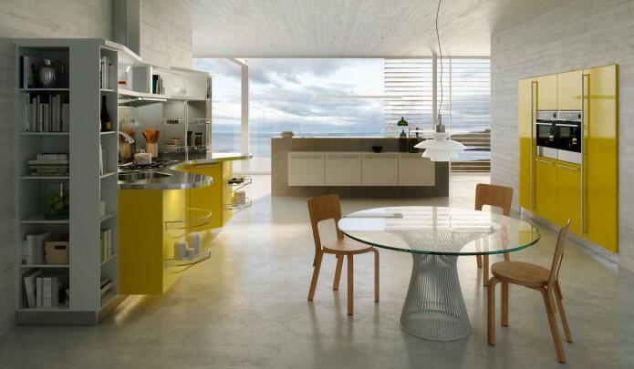 Cucine moderne skyline snaidero