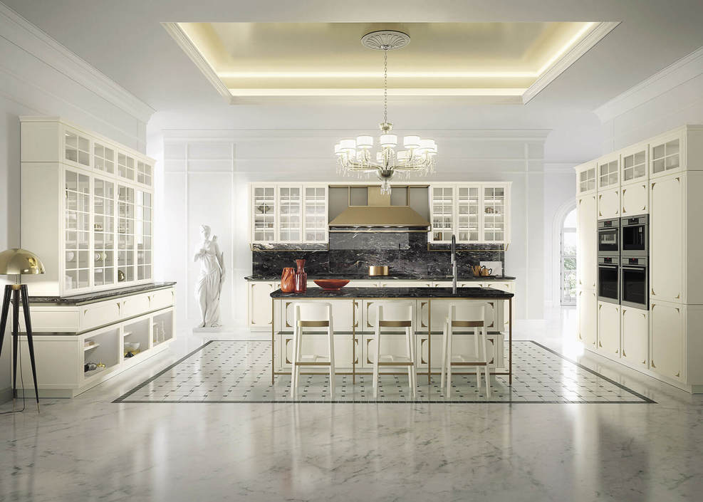 KELLY | Kitchen from Snaidero | RVV Tile Gallery