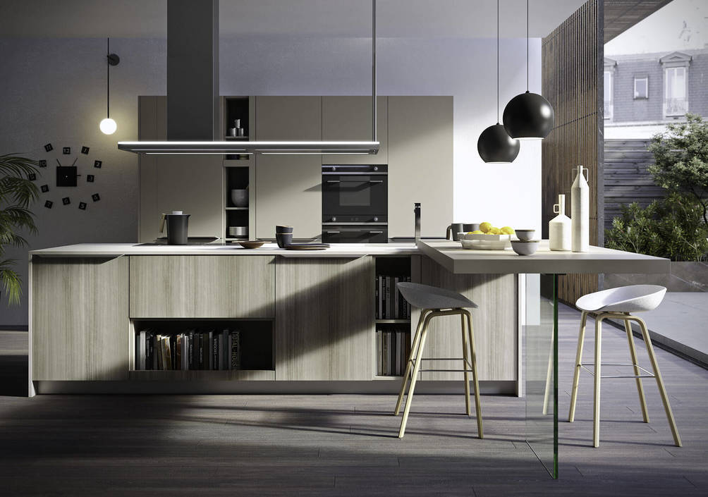 FEEL | Kitchen from Snaidero | RVV Tile Gallery