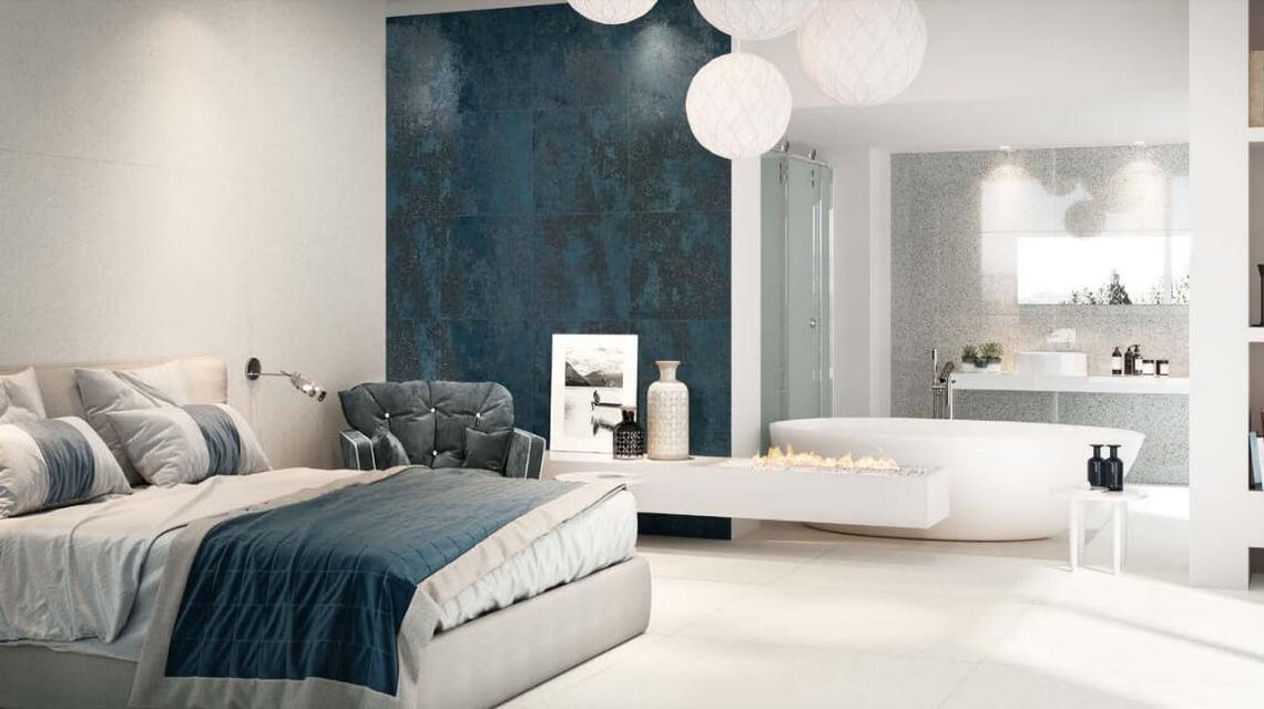 Bedroom terrazzo tiles